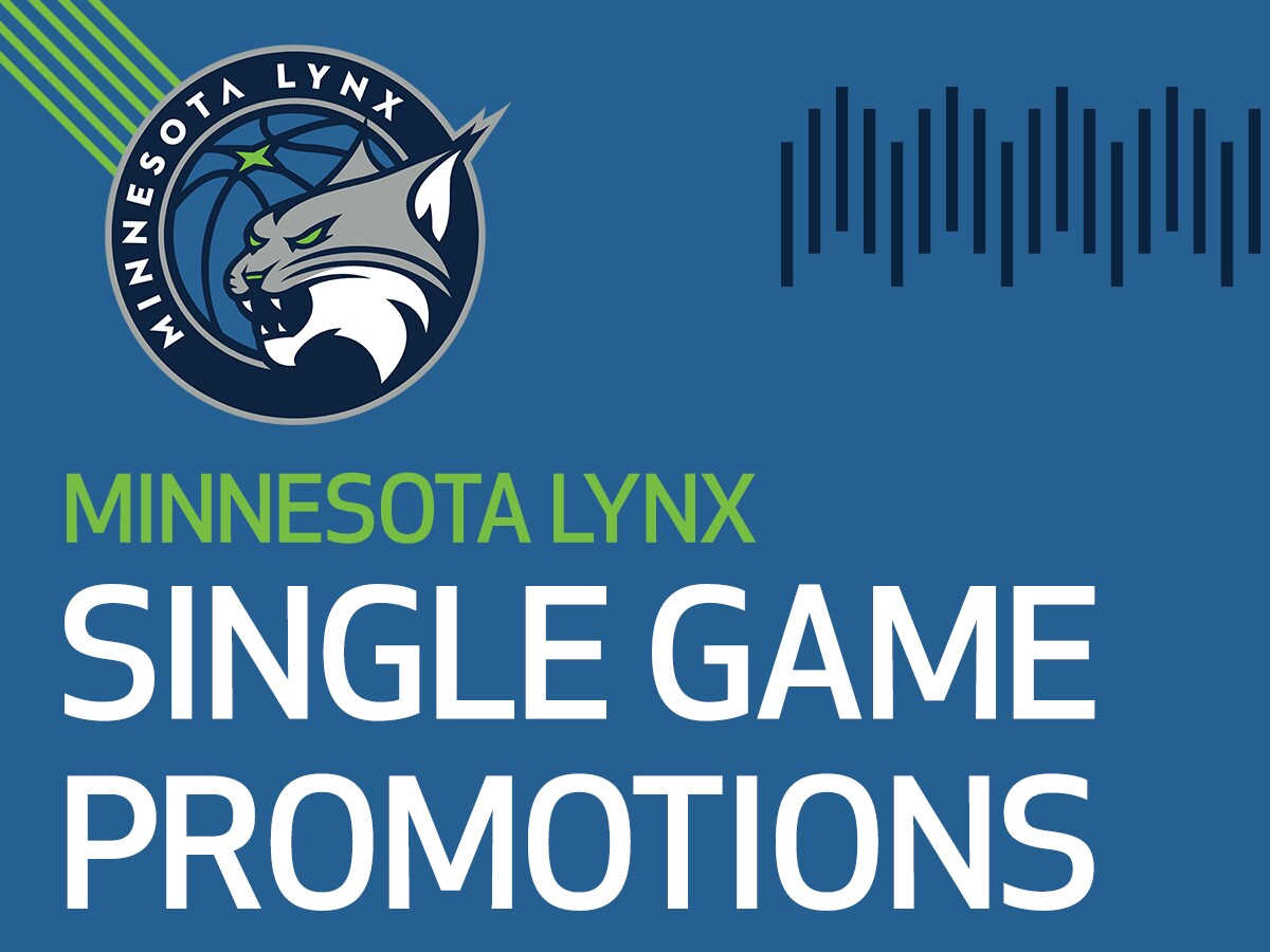 Minnesota Lynx Single Game Promotions