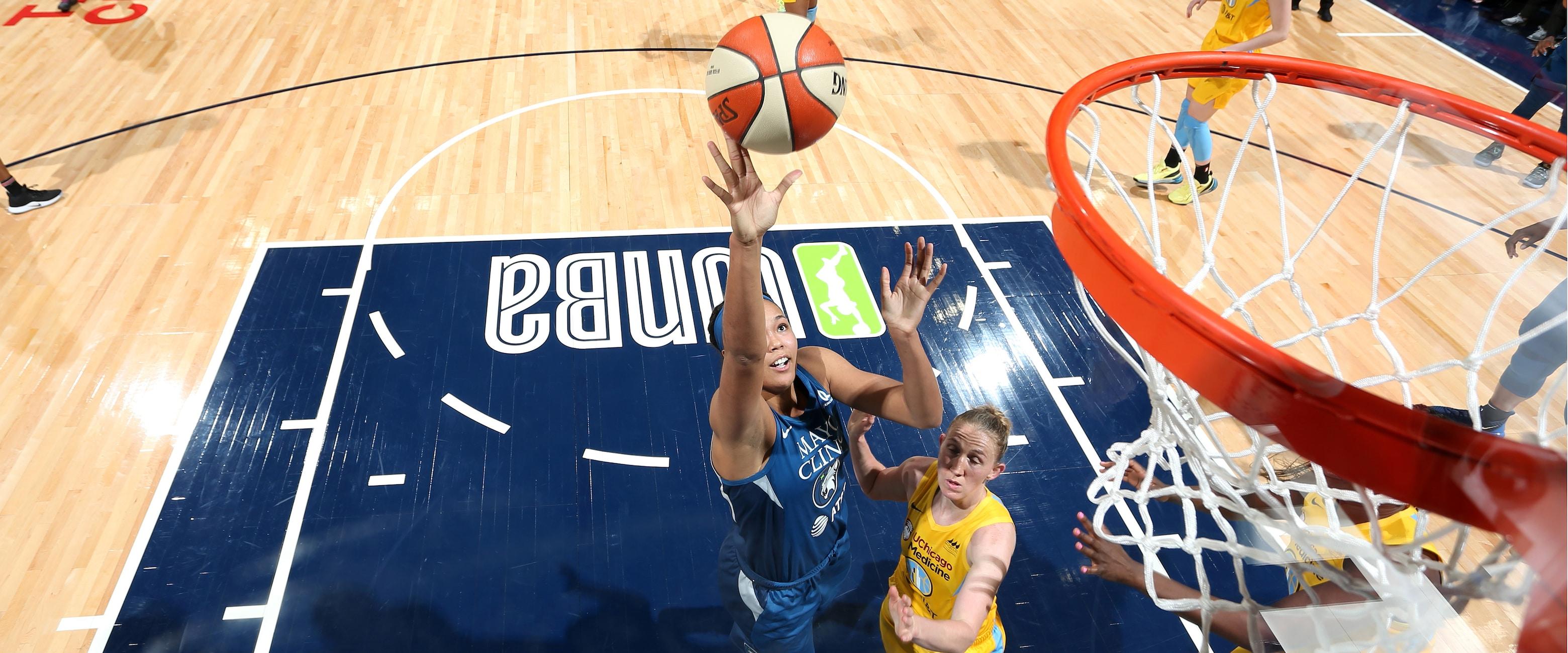 Napheesa Collier Catches Fire In WNBA Debut - Minnesota Lynx