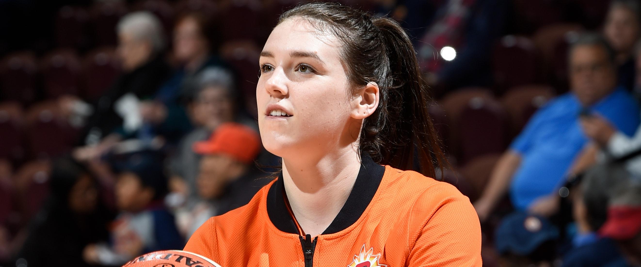 Lynx Sign Forward Bridget Carleton - Minnesota Lynx