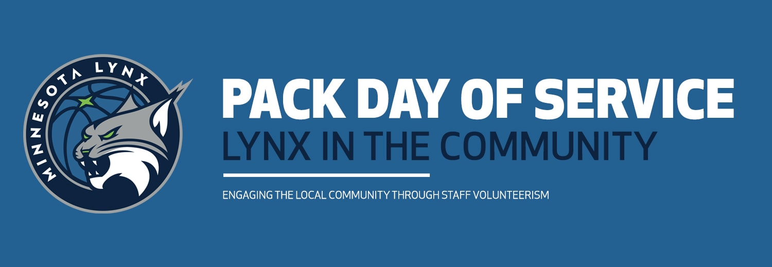PACK Day of Service Lynx in the Community