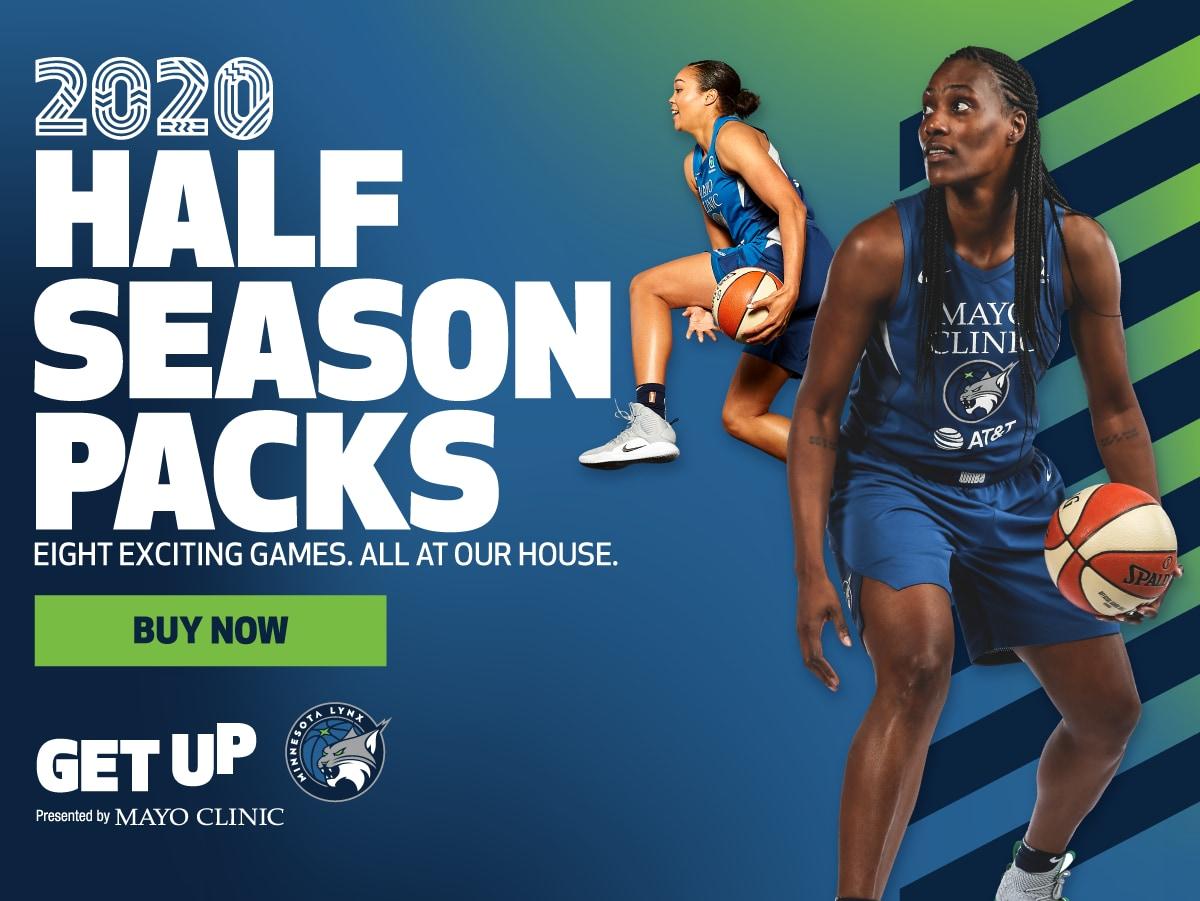 Minnesota Lynx Half Season Memberships
