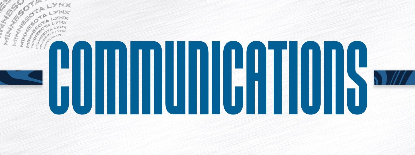 Minnesota Lynx Communications
