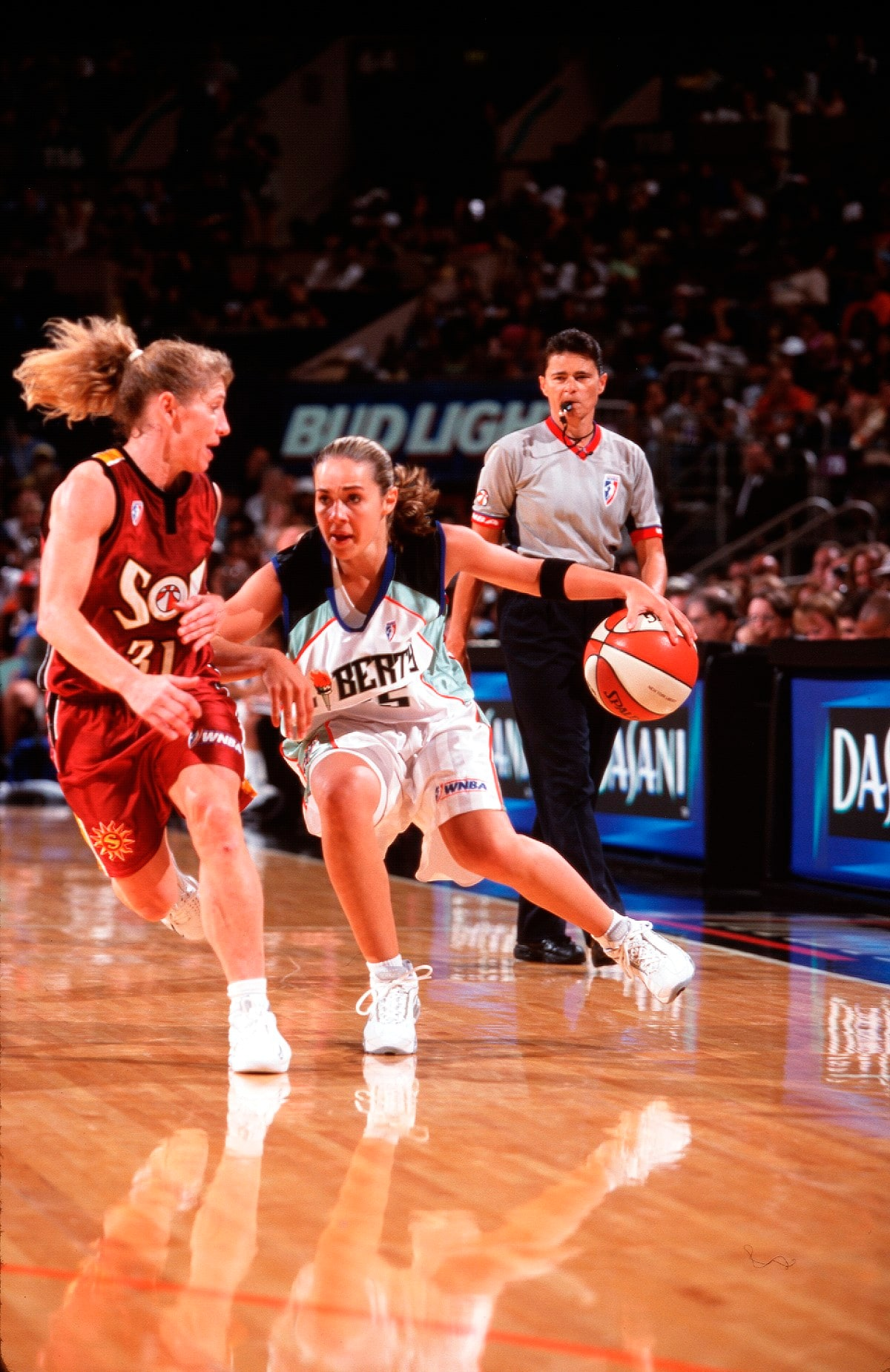 July 22, 2001; The New York Liberty lose to the Miami Sol, 52-68.