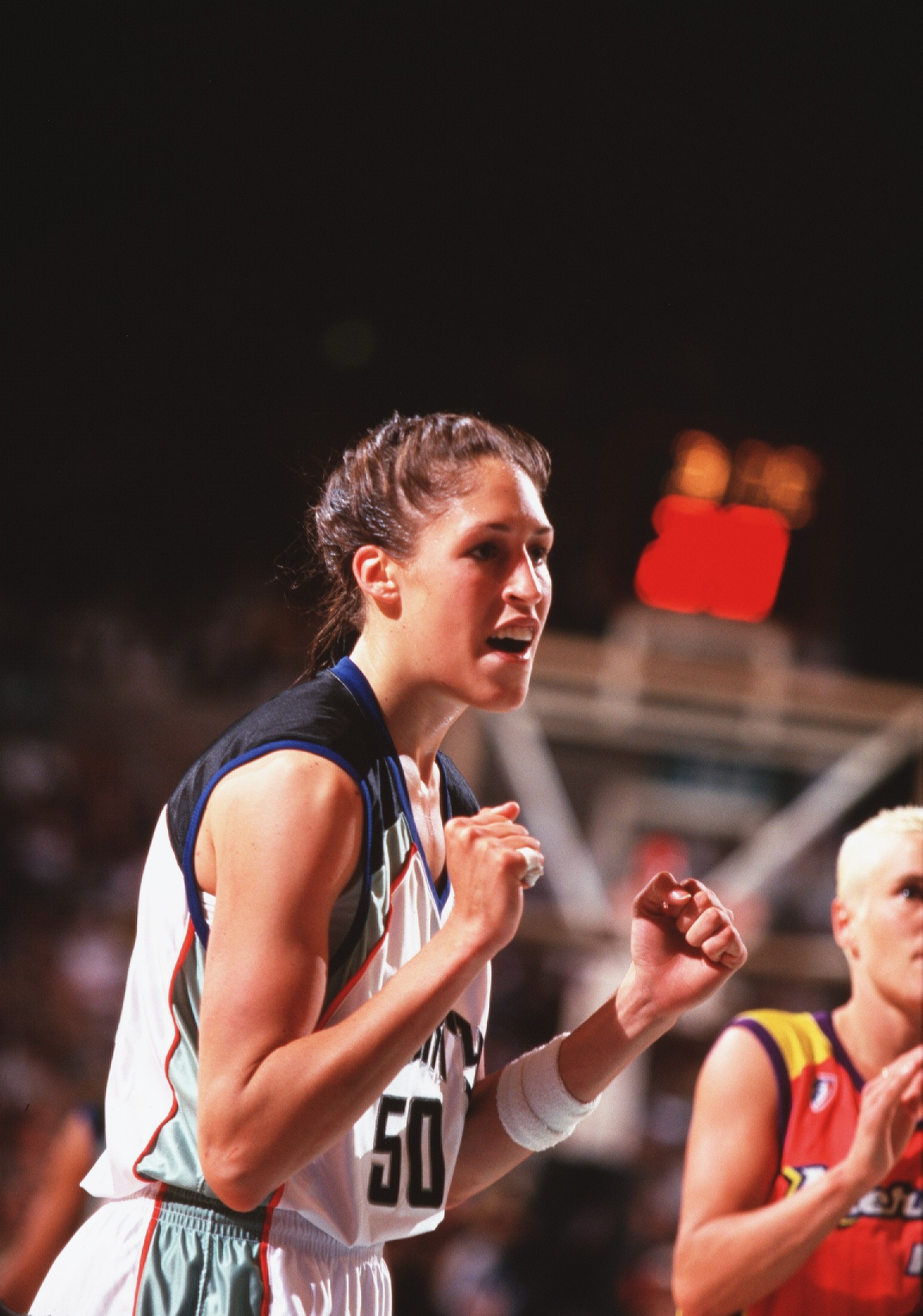 June 29, 1997; The New York Liberty defeat the Phoenix Mercury, 65-57 in the New York Liberty's first home game.