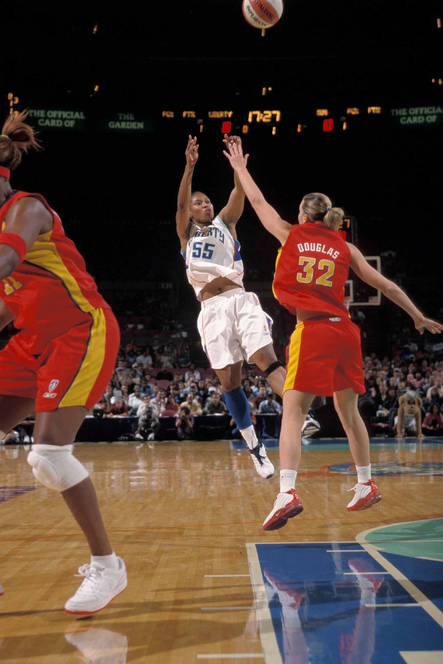 7/1/03 Liberty v. Sun Vickie Johnson
