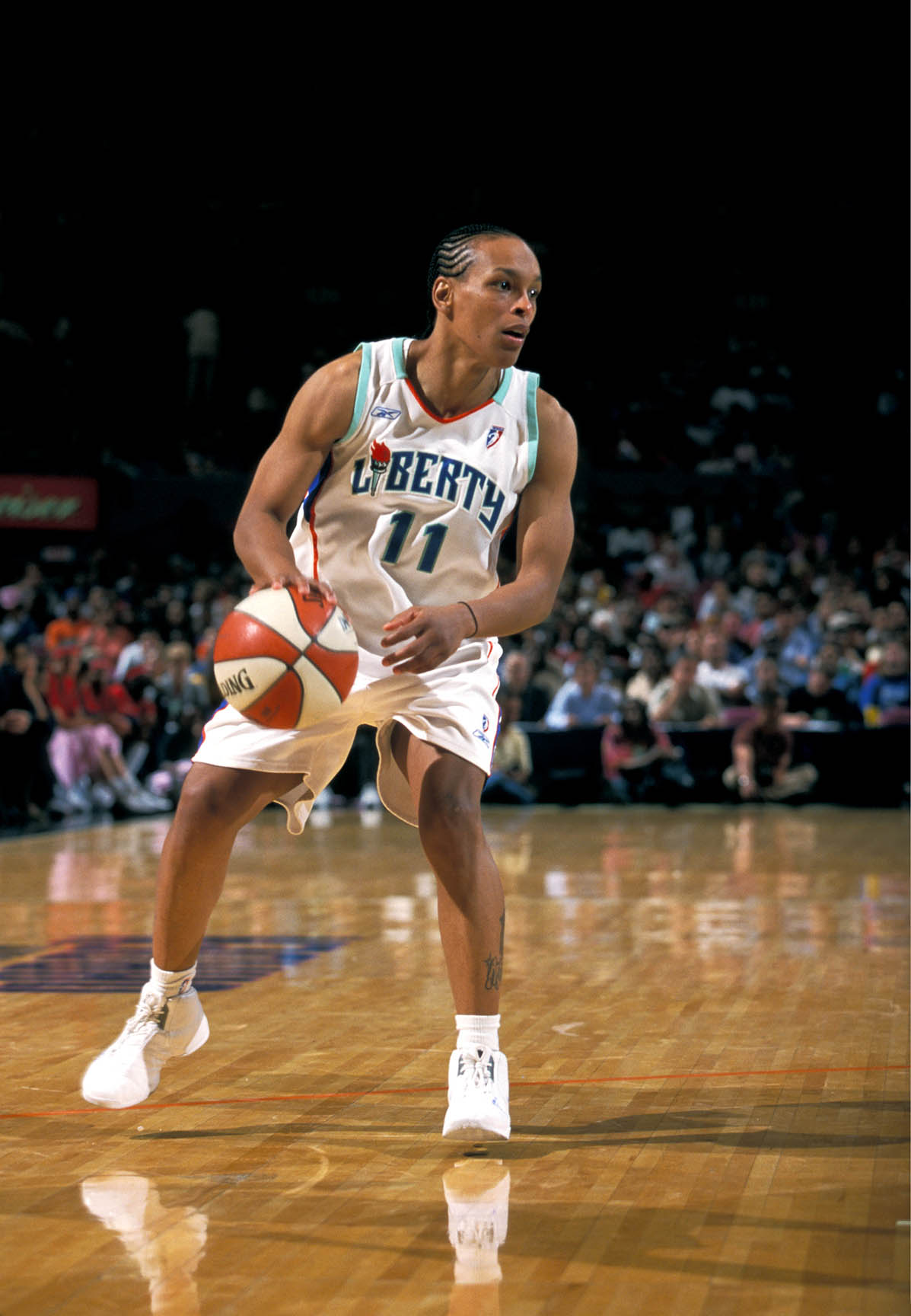 8/1/03 Liberty v. Shock - Sue Wicks Night Teresa Weatherspoon