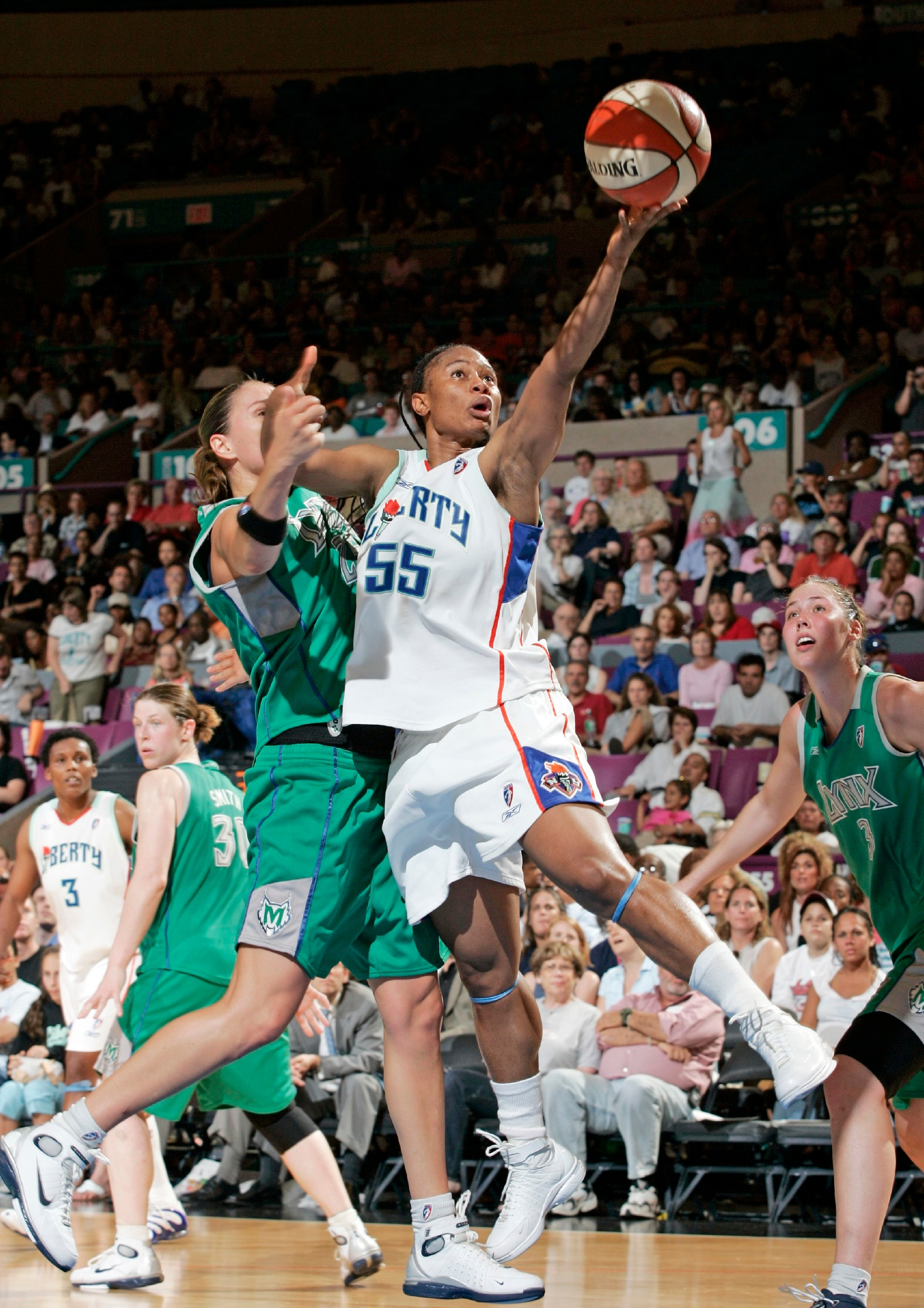 7/15/2005, Liberty v. Minnesota Lynx, Vickie Johnson.