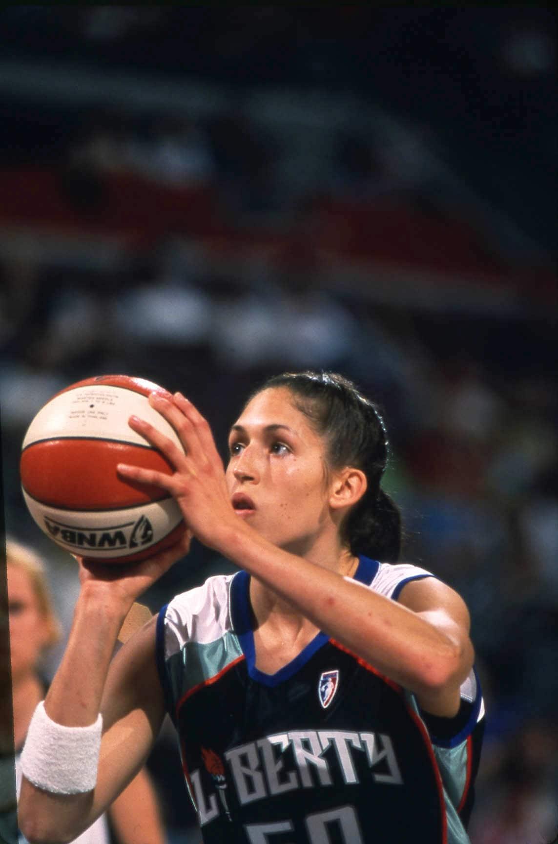 C. 1997: Rebecca Lobo of the New York Liberty.
