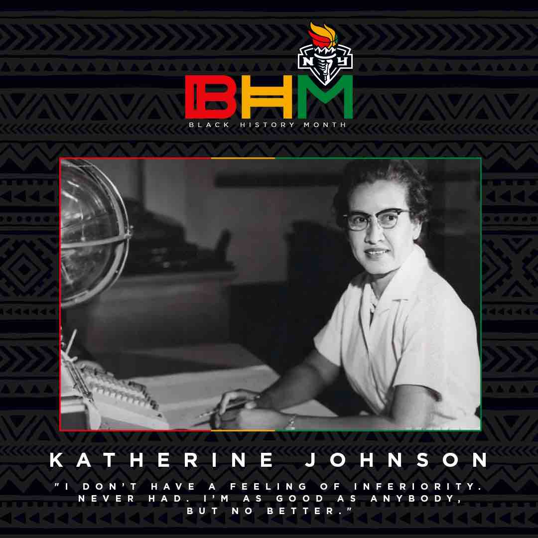 Feb. 26: Katherine Johnson