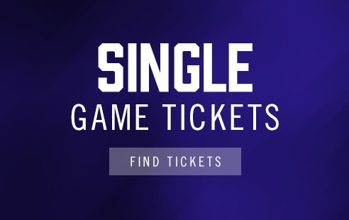 Single Game Tickets are no longer on sale at this time
