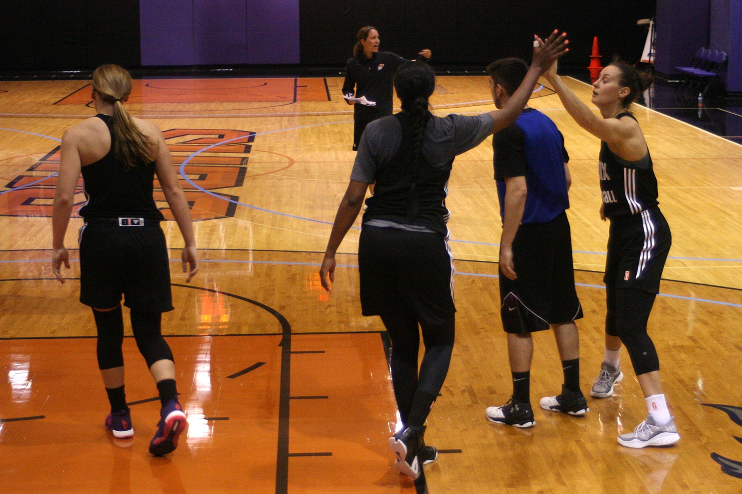 2017 Phoenix Mercury Training Camp