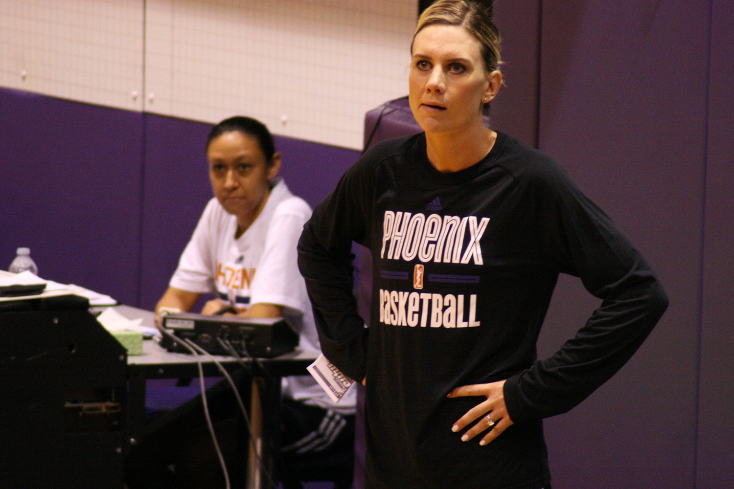 Phoenix Mercury Training Camp 2017