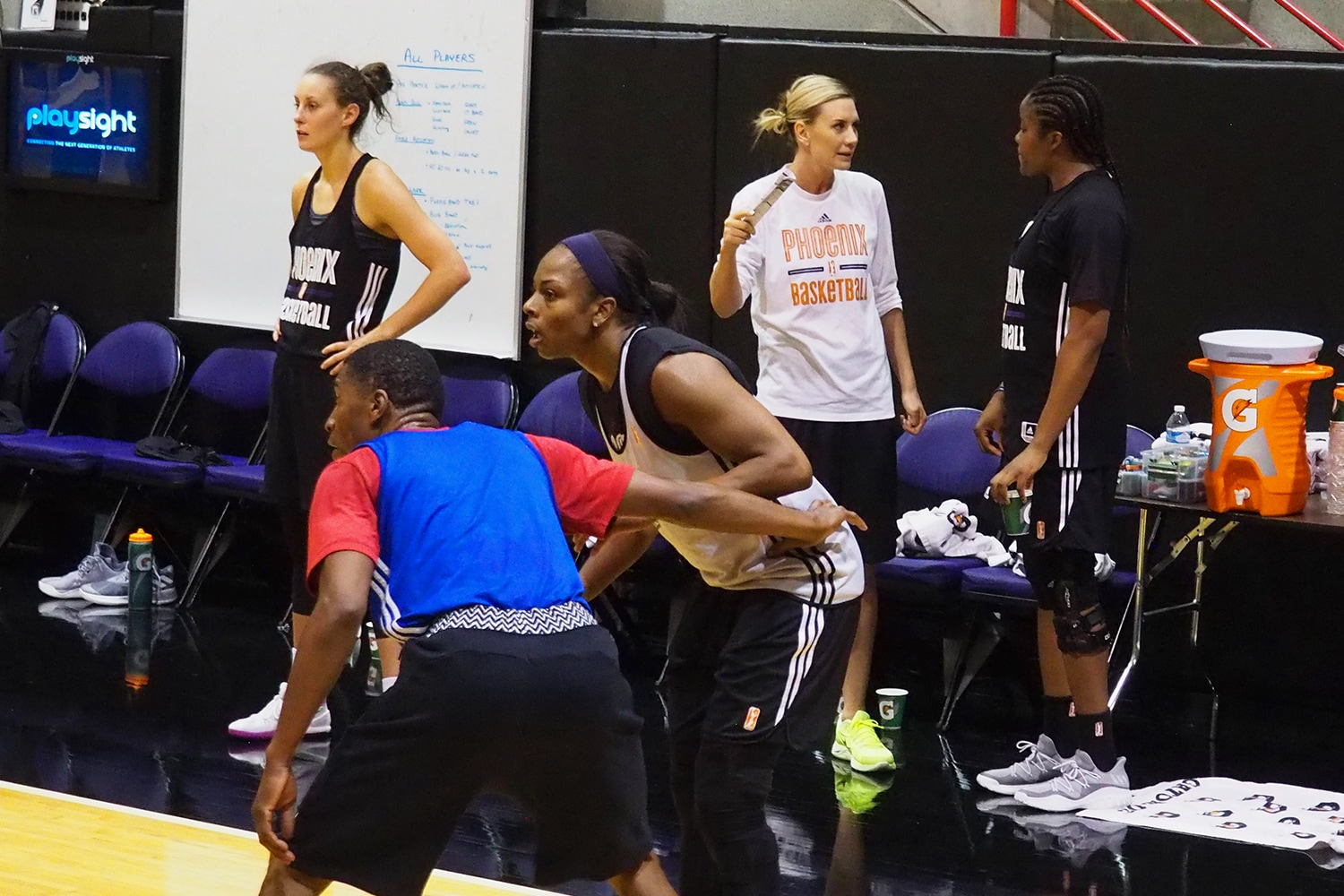 2017 Phoenix Mercury Training Camp.