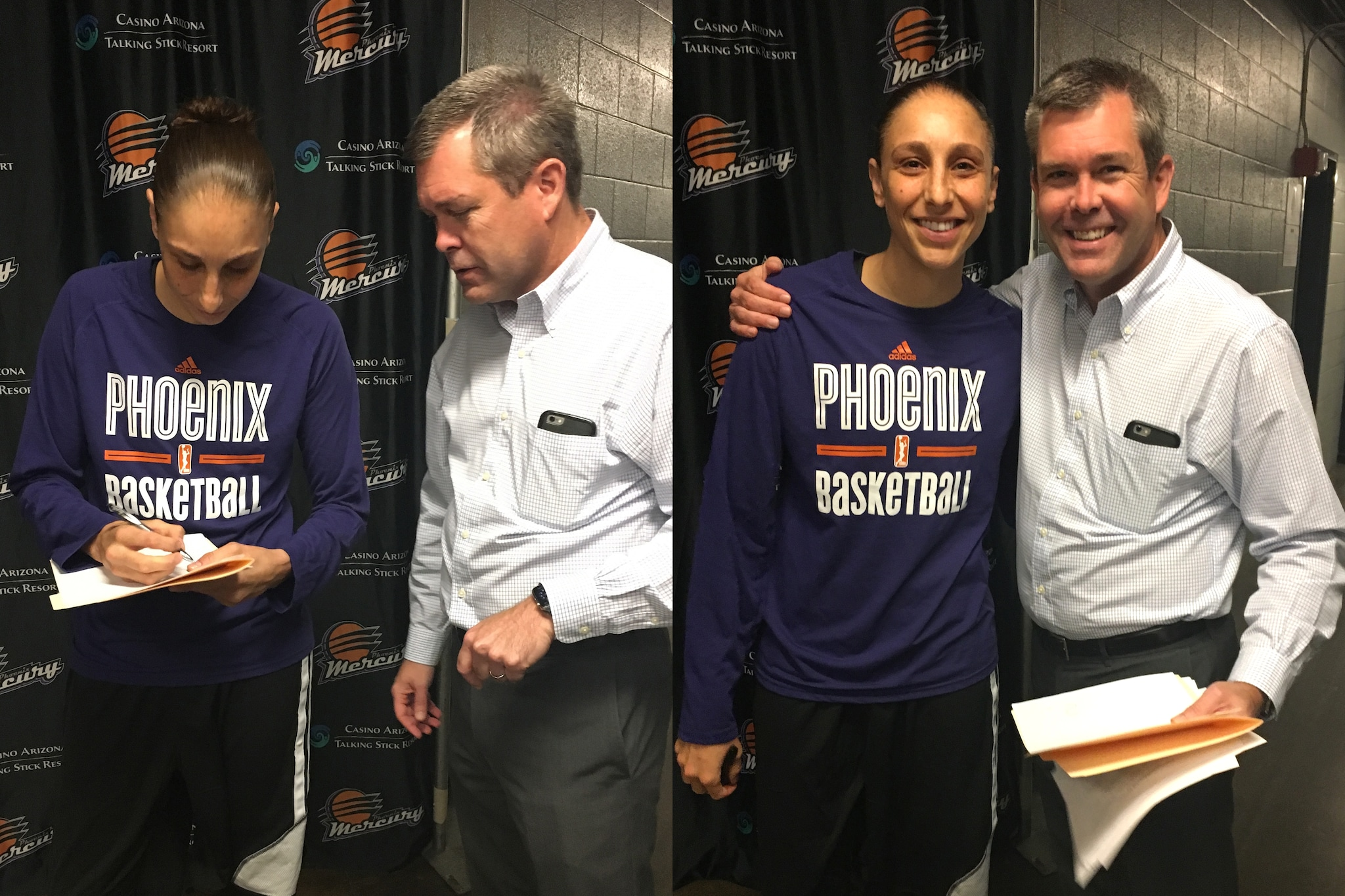Taurasi signs new contract