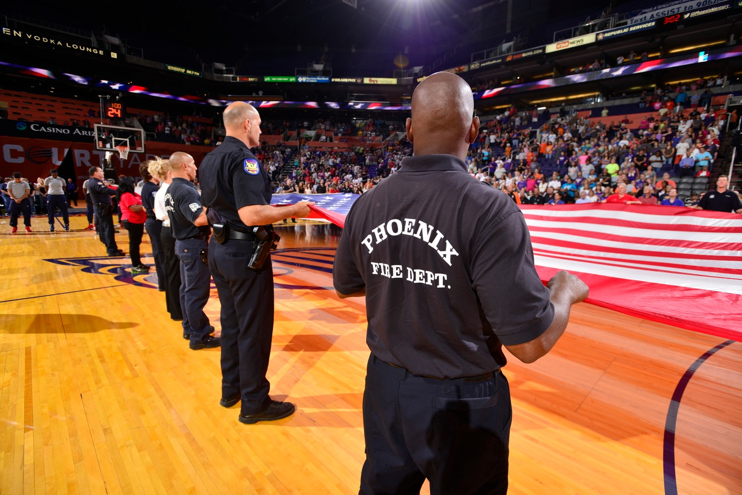 Mercury First Responders Night