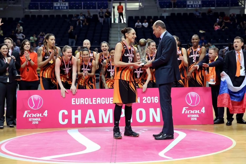 6x Euroleague Champion.