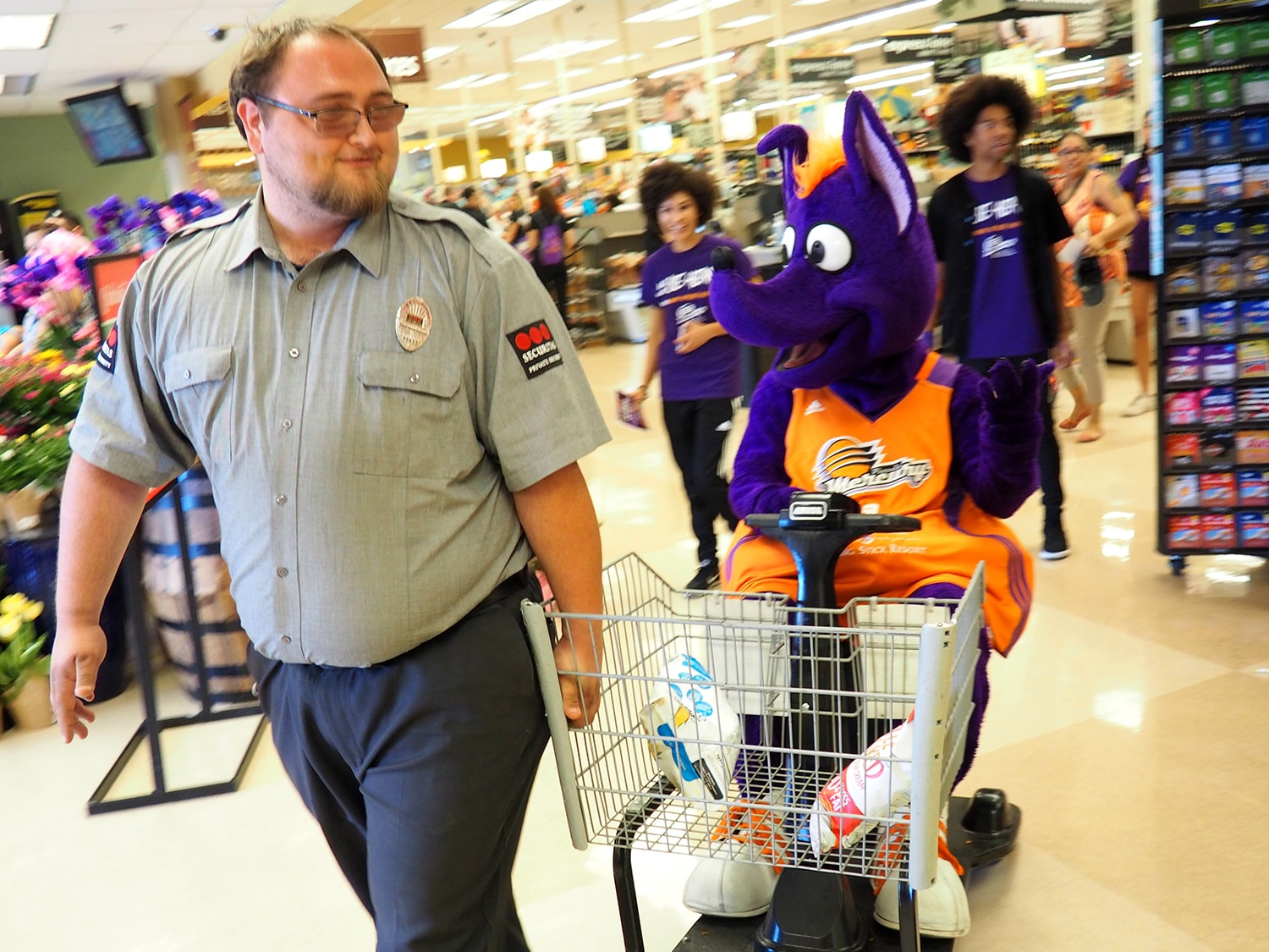 #MercTradingPlaces at Fry's Food Stores