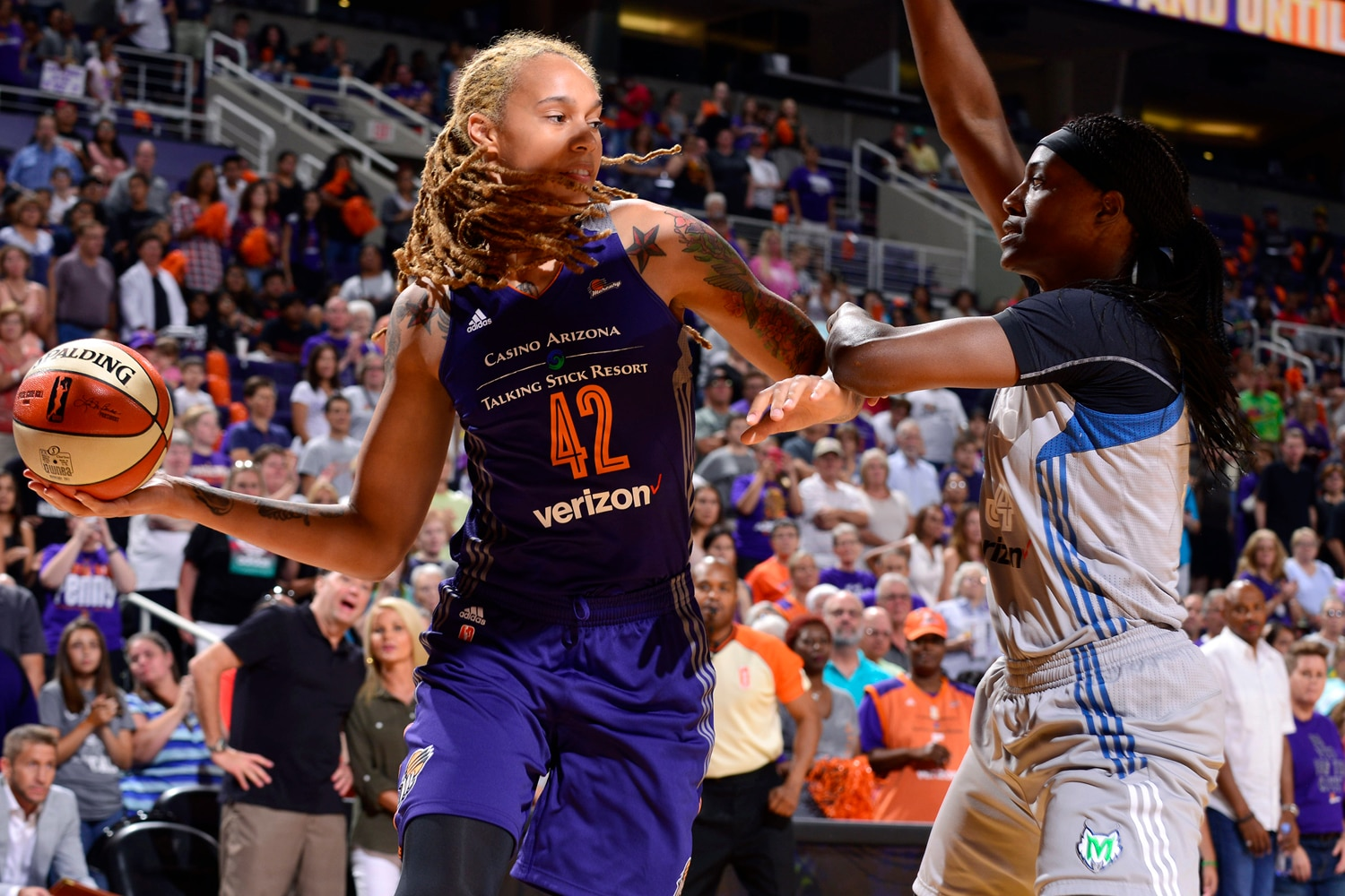 Phoenix Mercury Minnesota Lynx July 14, 2017 brittney griner