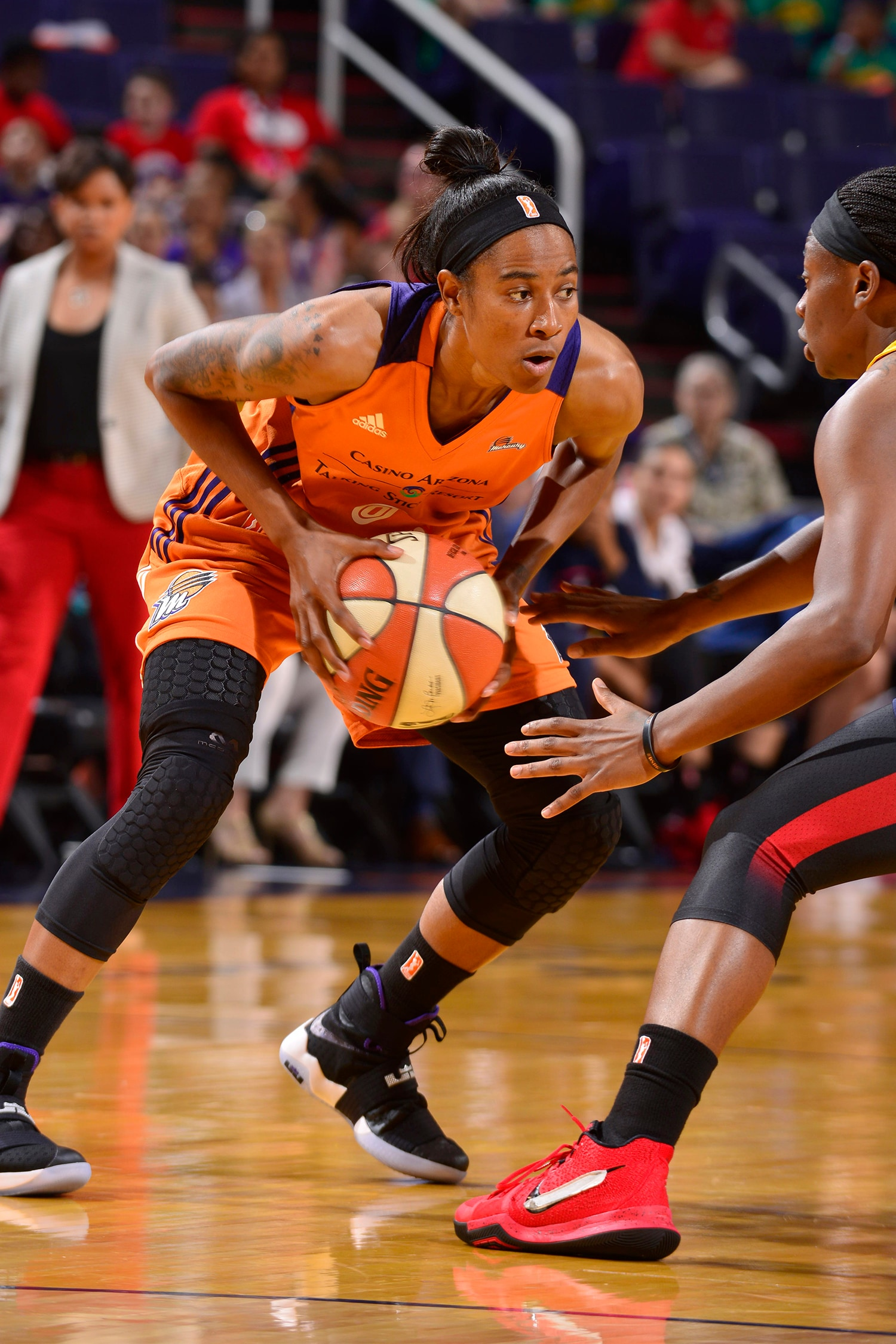 phoenix mercury indiana fever july 19, 2017 yvonne turner