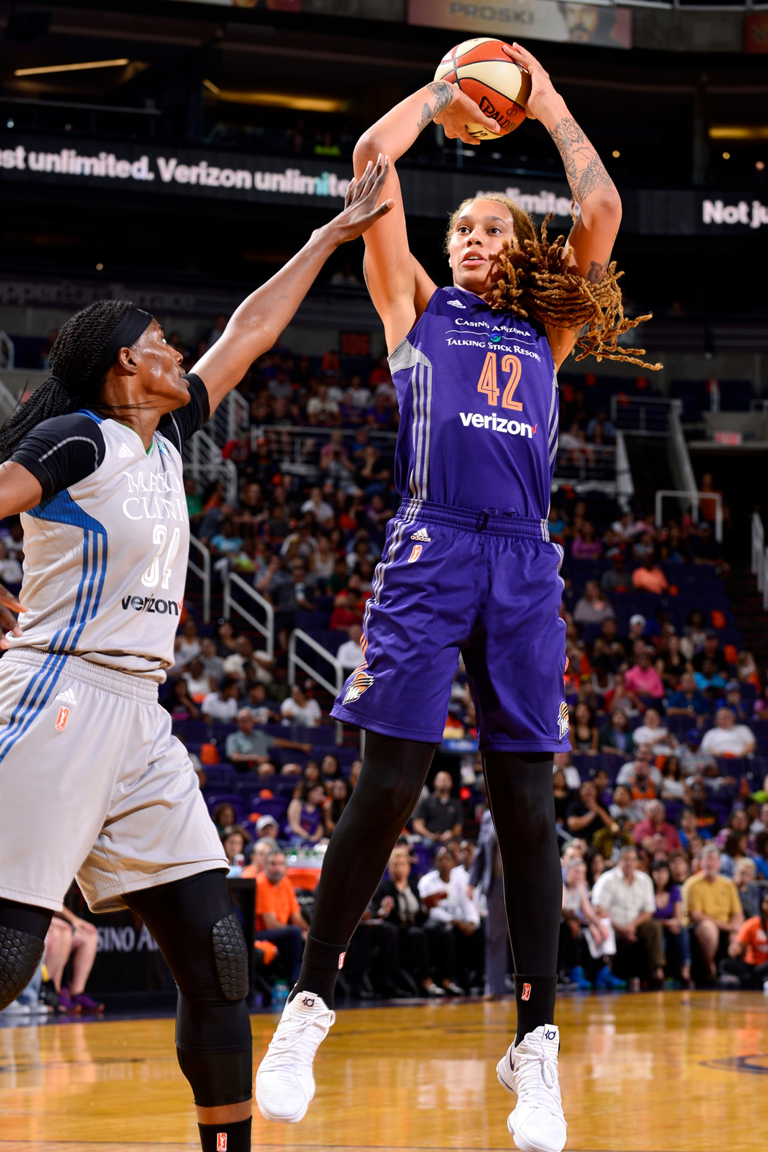 Phoenix Mercury Minnesota Lynx July 14, 2017