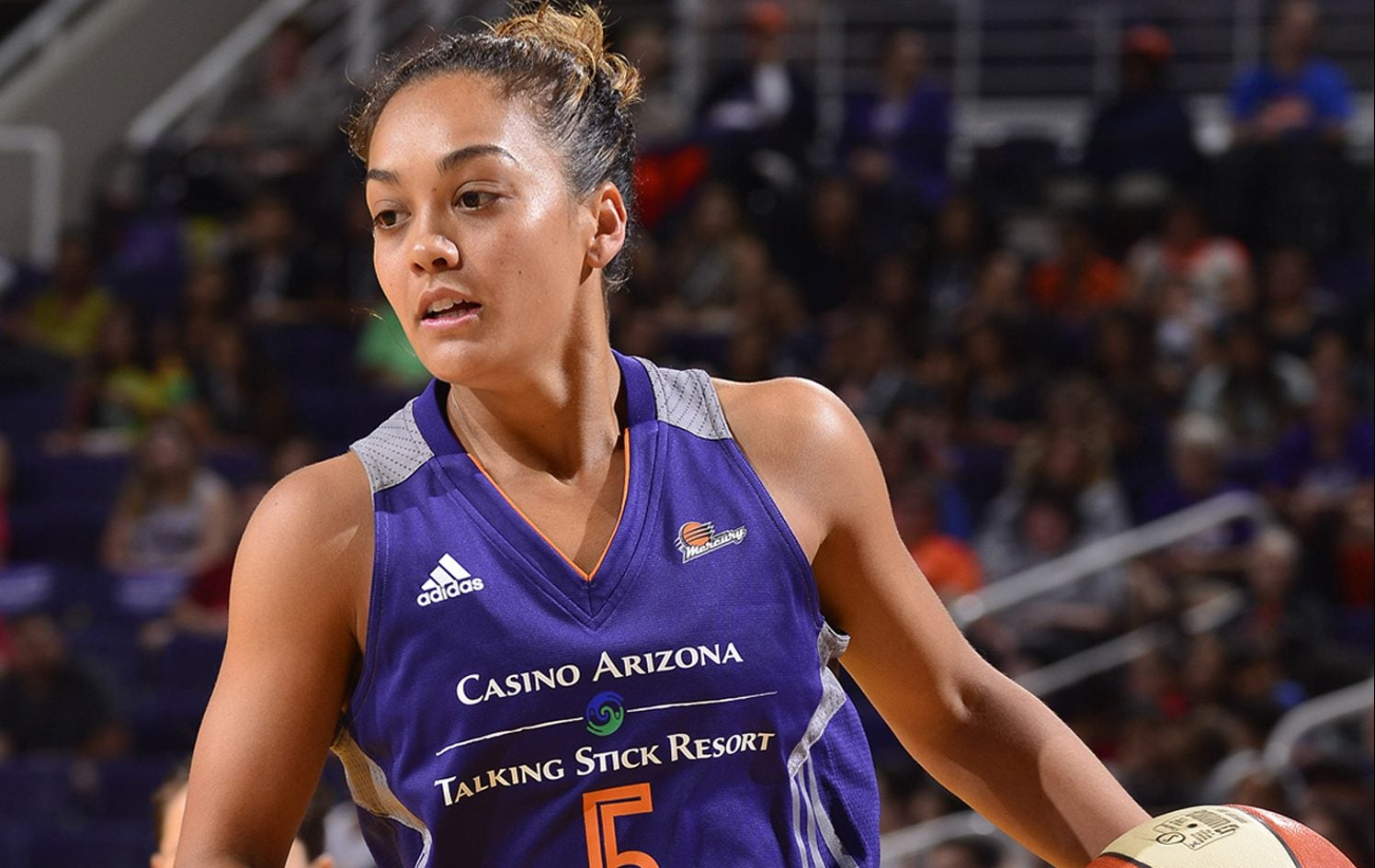 Phoenix Mercury vs Atlana Dream Leilani Mitchell