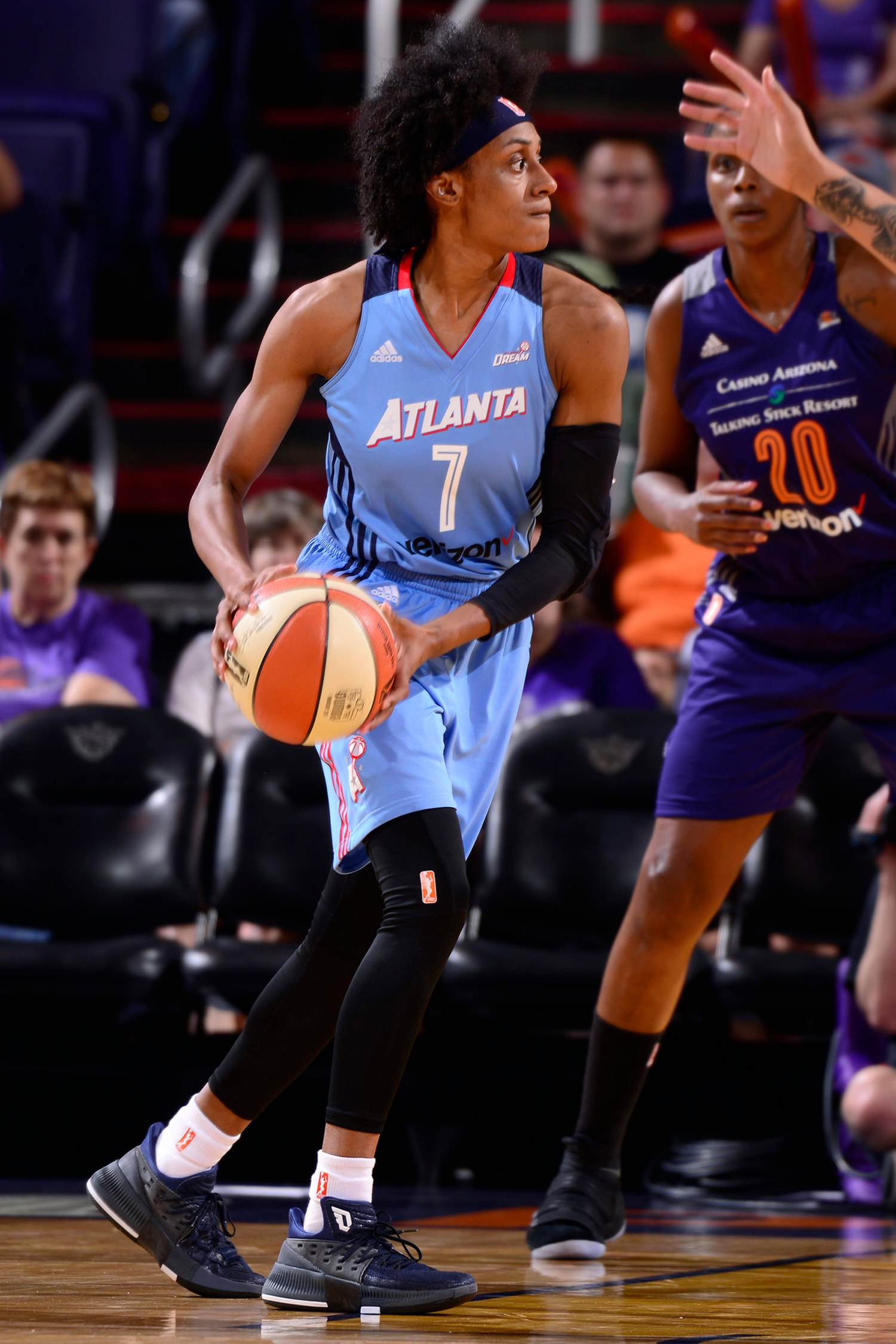 Phoenix Mercury vs Atlana Dream defense