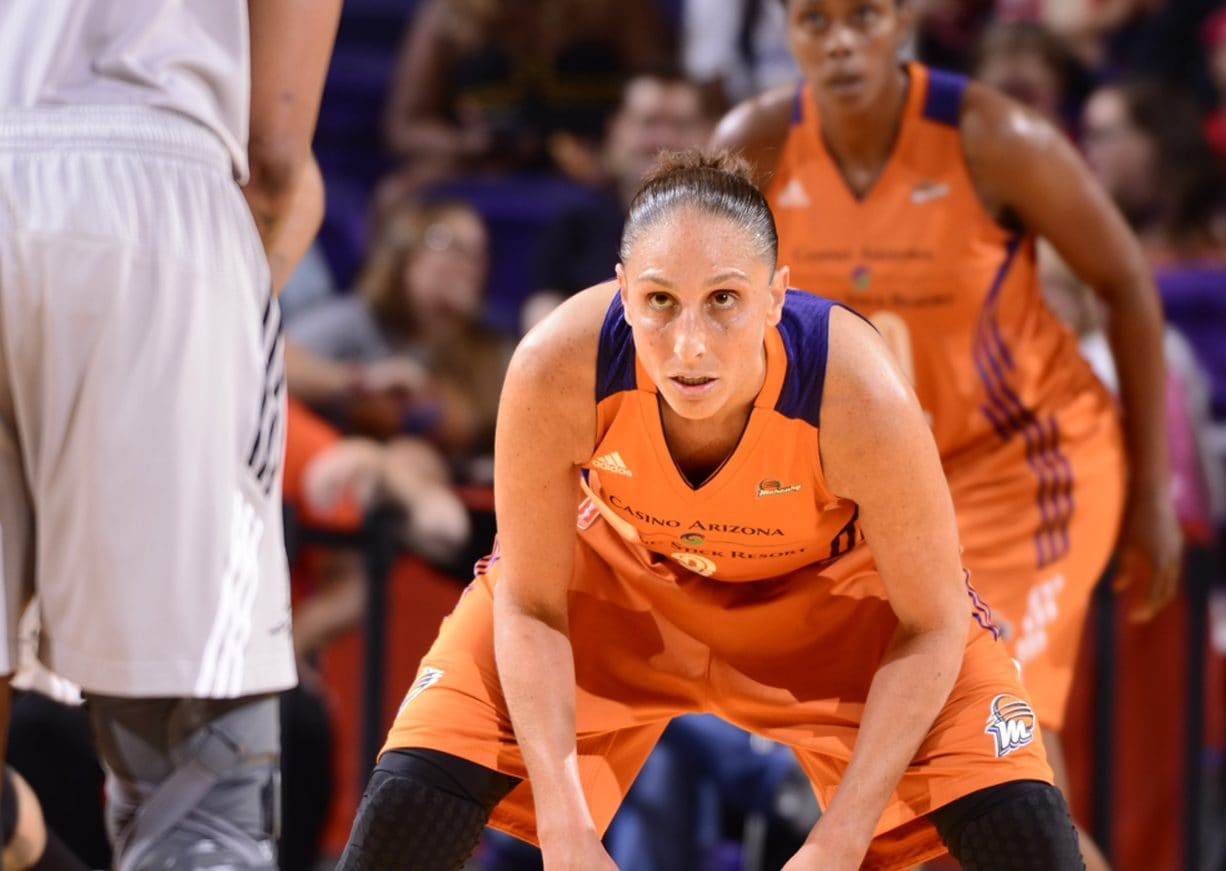lockdown defense in the zone DIANA TAURASI