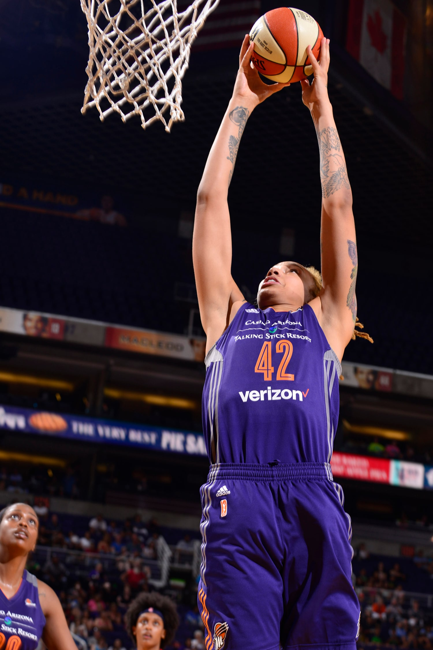 Phoenix Mercury vs Atlana Dream Brittney Griner Slam Dunk