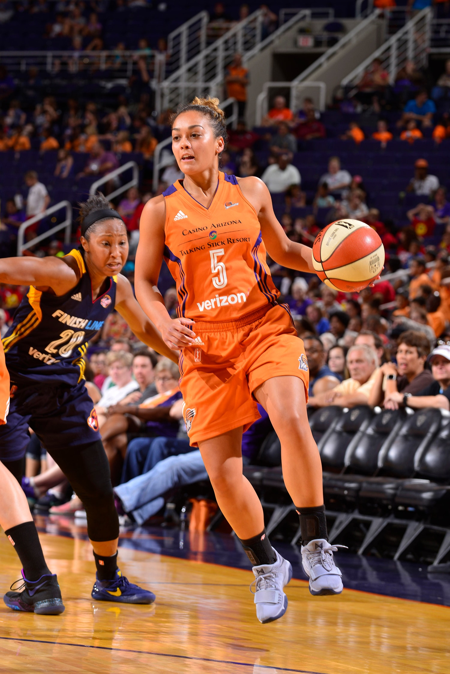 phoenix mercury indiana fever july 19, 2017 leilani mitchell