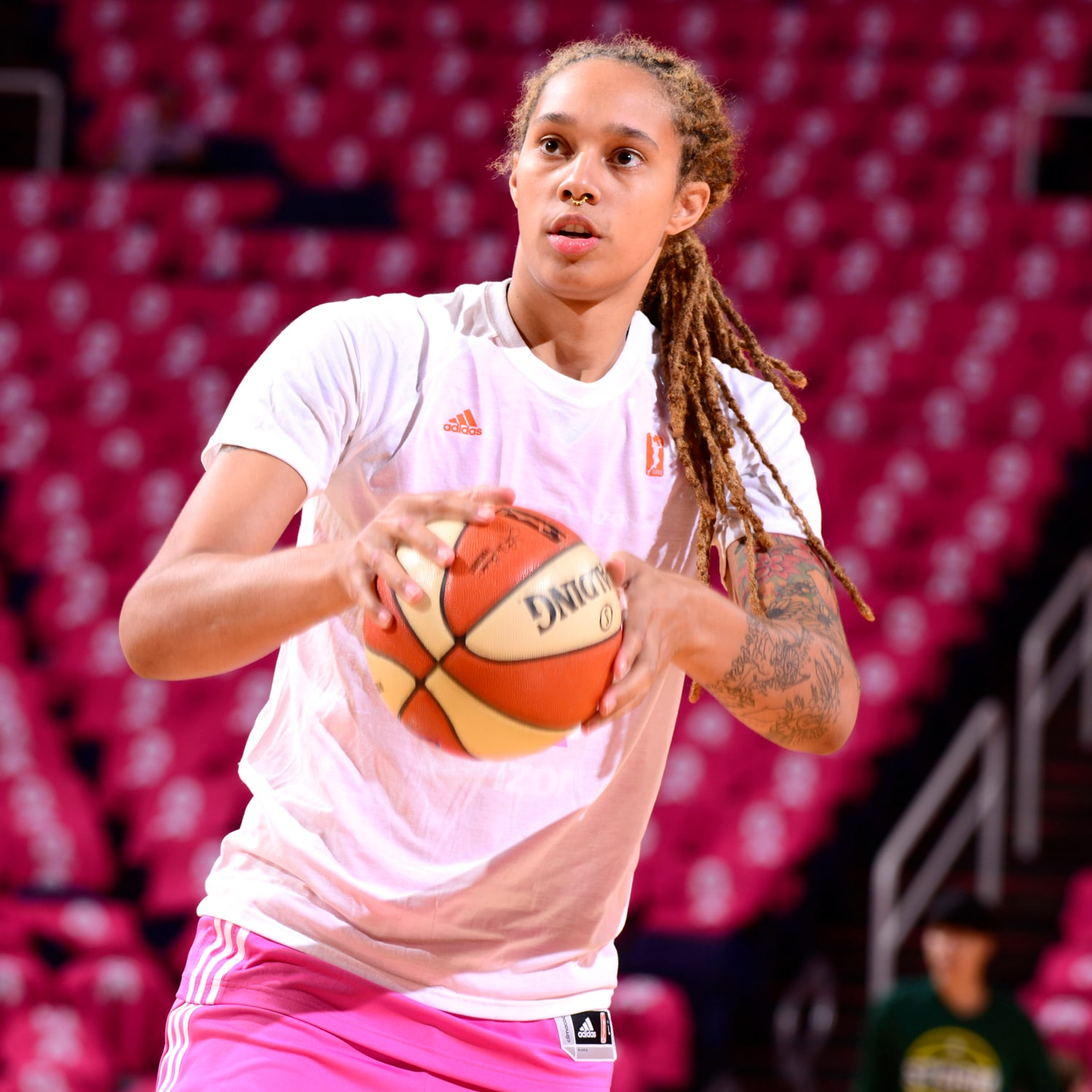 Seattle Storm v Phoenix Mercury Brittney Griner warms up