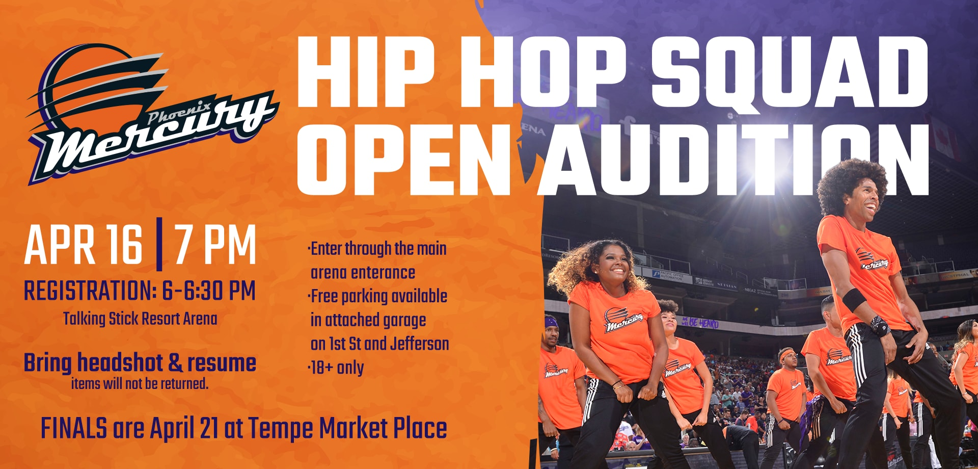Hip Hope Auditions 2018