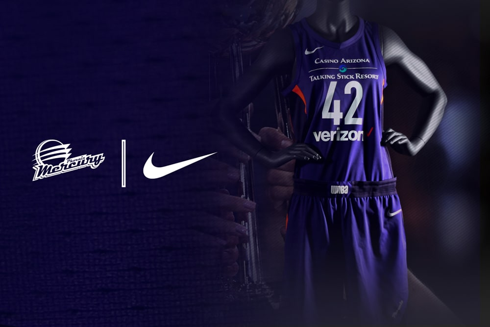 2018 Phoenix Mercury Nike Uniform: Icon Edition