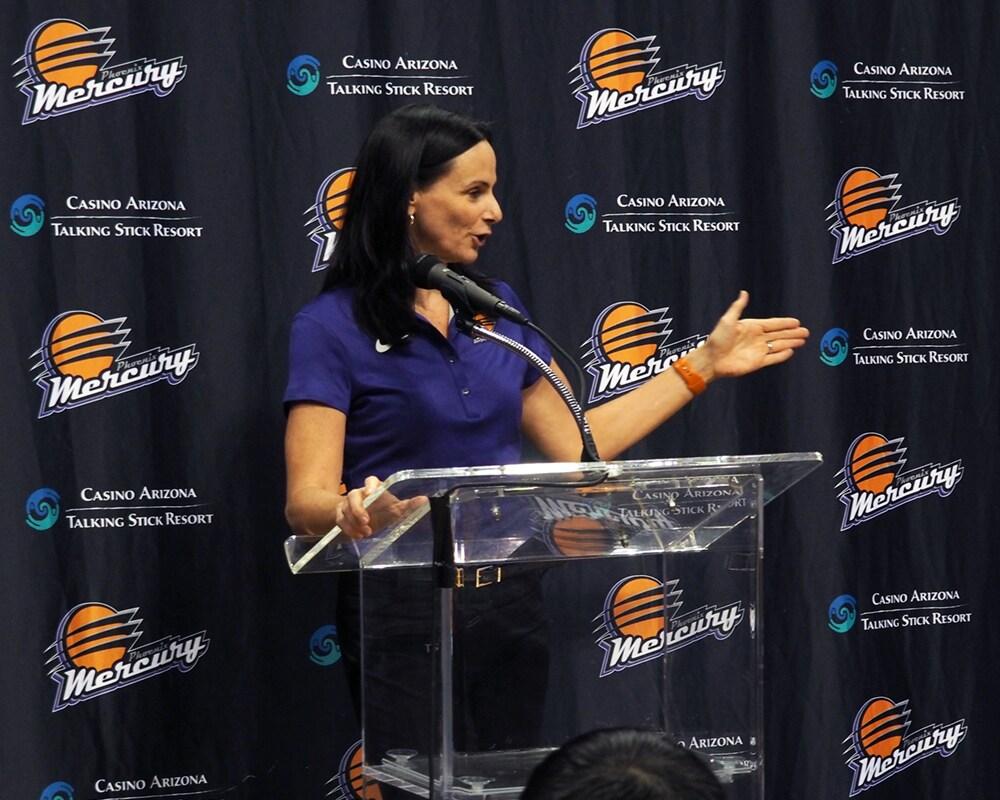 Mercury Head Coach Sandy Brondello