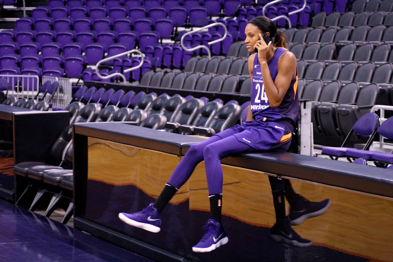 DeWanna Bonner during a telephone intervirew