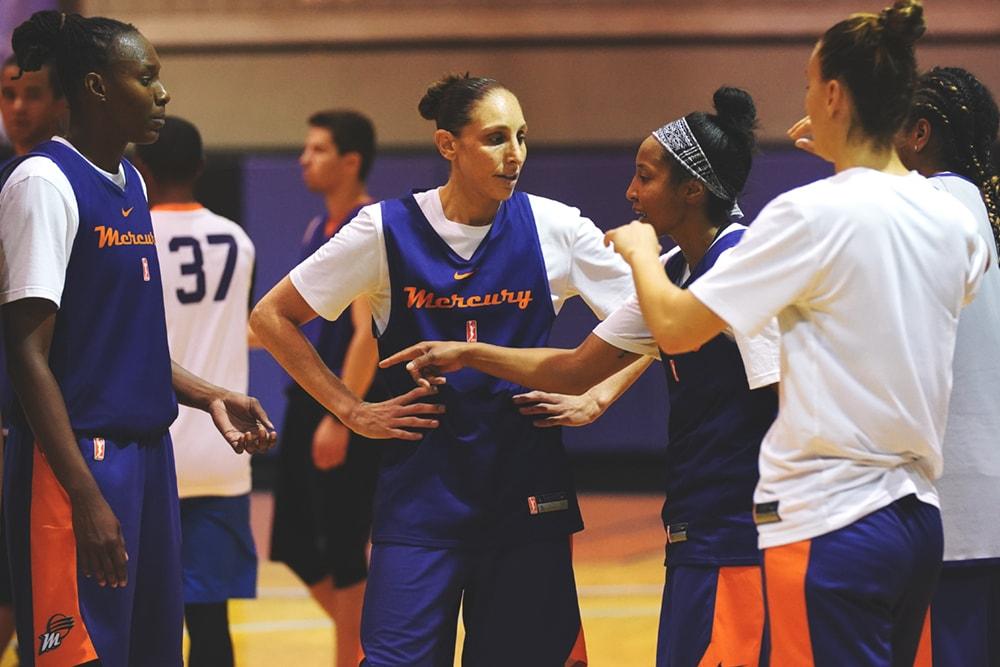 Phoenix Mercury Training Camp
