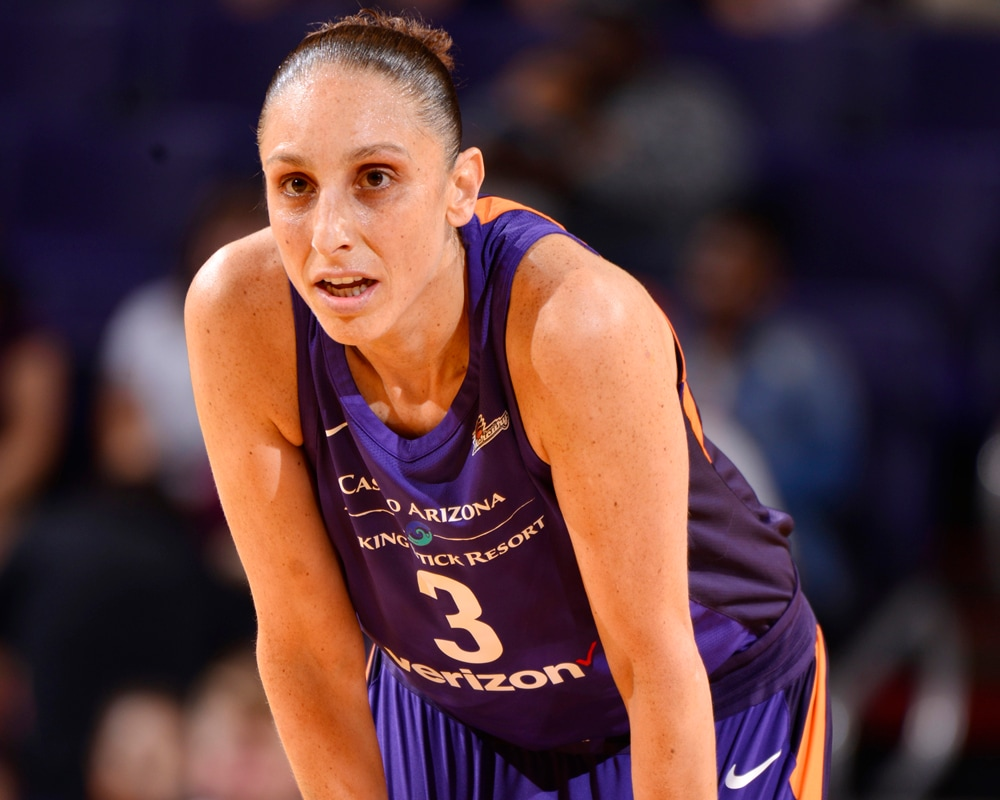 Diana Taurasi between plays