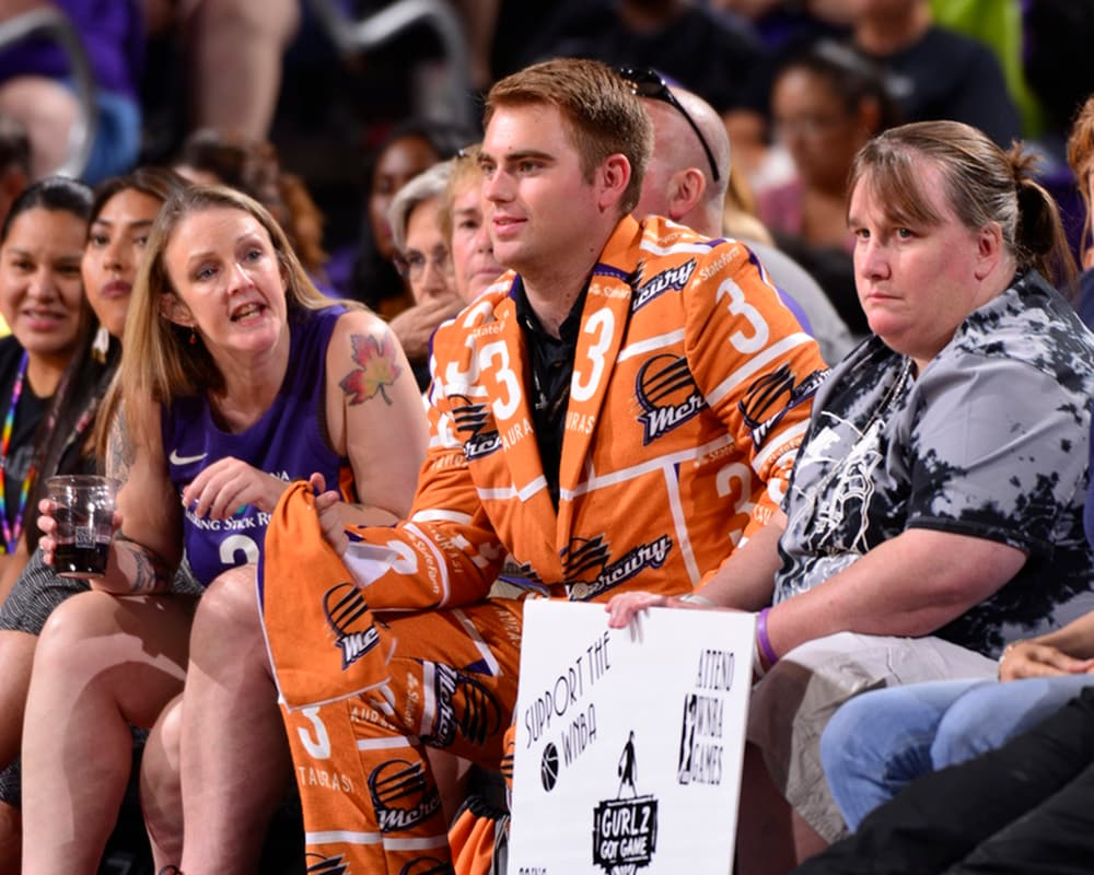 mercury fans go nuts