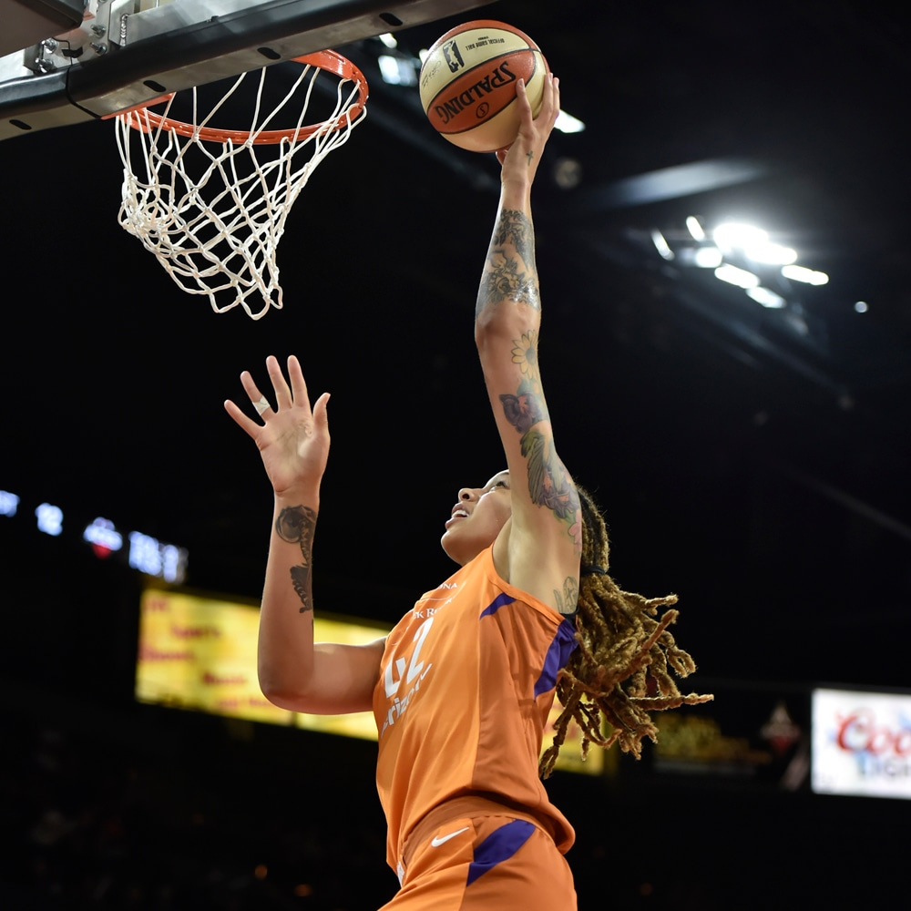 Brittney Griner at the rim