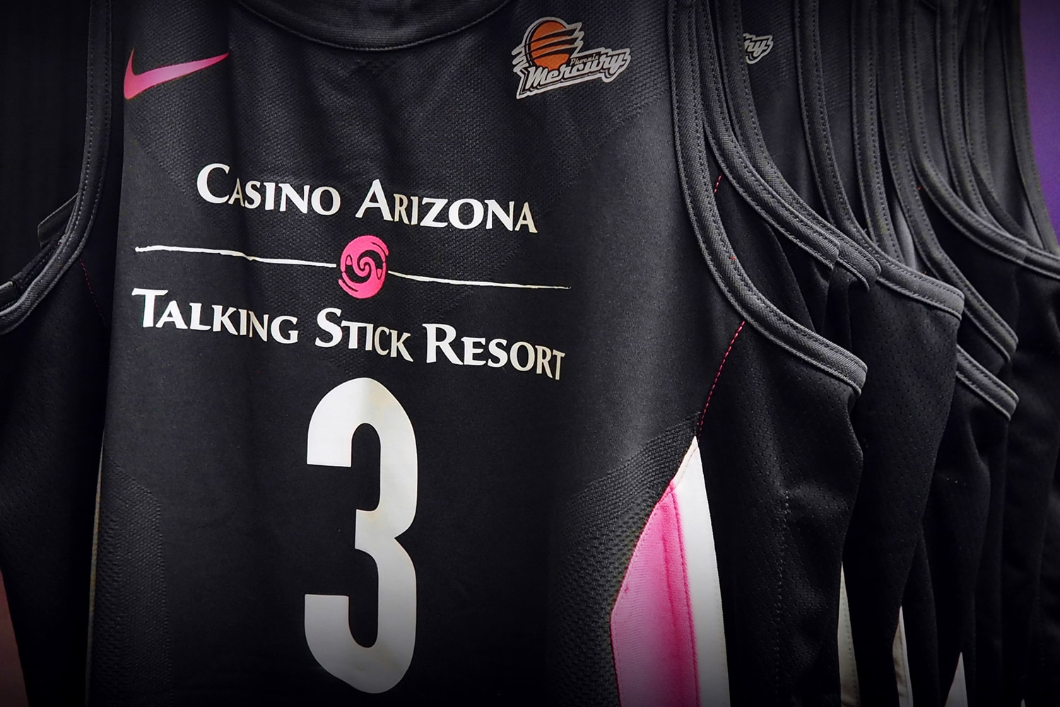 Phoenix Mercury Rock the Pink for Breast Cancer