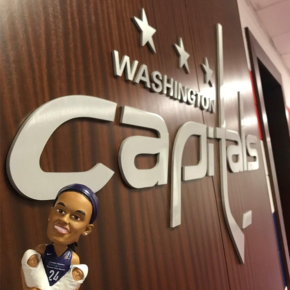 DeWanna Bonner and the Washington Capitols