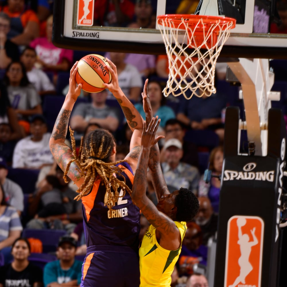 Griner in the paint