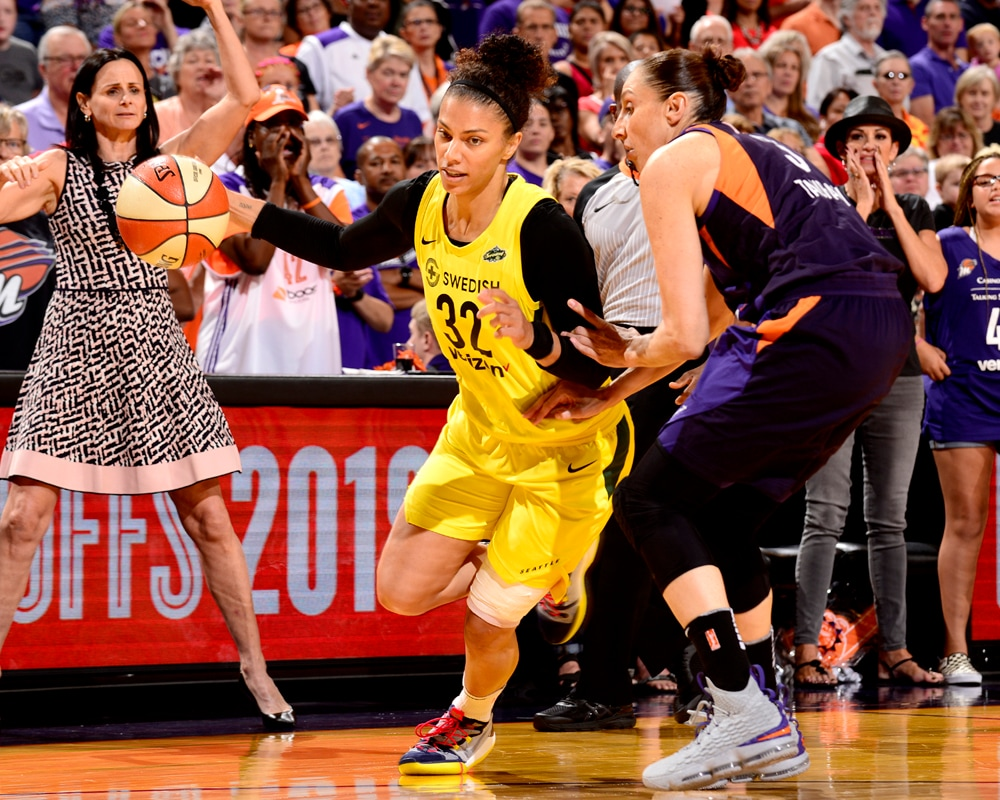 Diana Taurasi defends Storm player