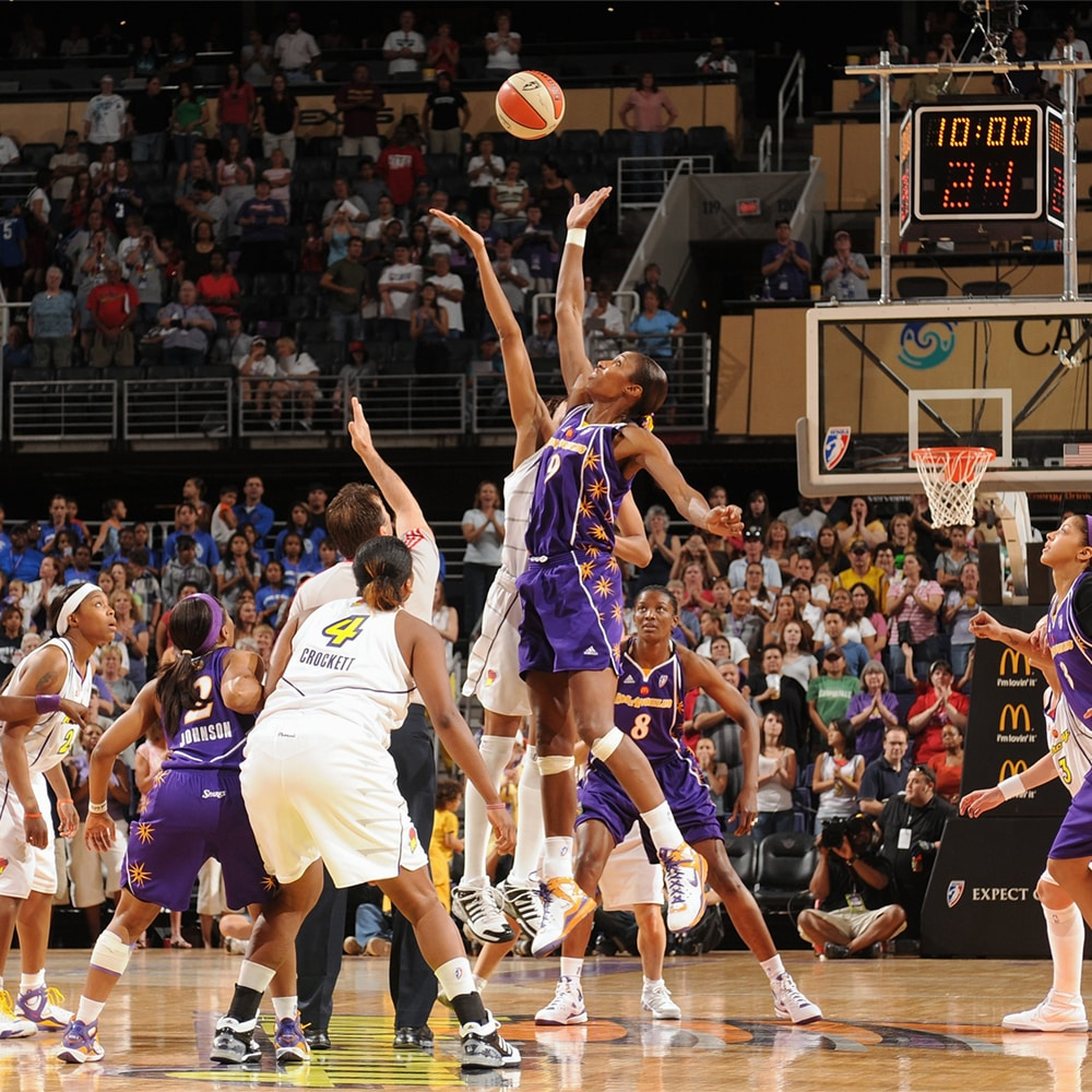 Lisa Leslie and Phoenix Mercury