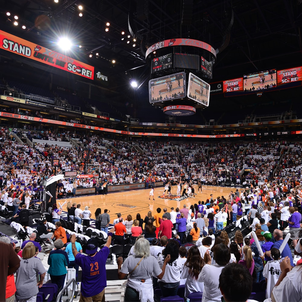 Phoenix Mercury and San Antonio Stars