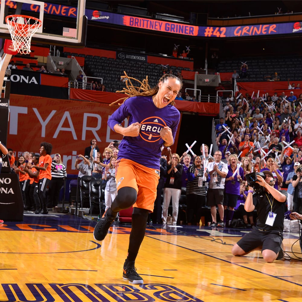 Brittney Griner gets hyped