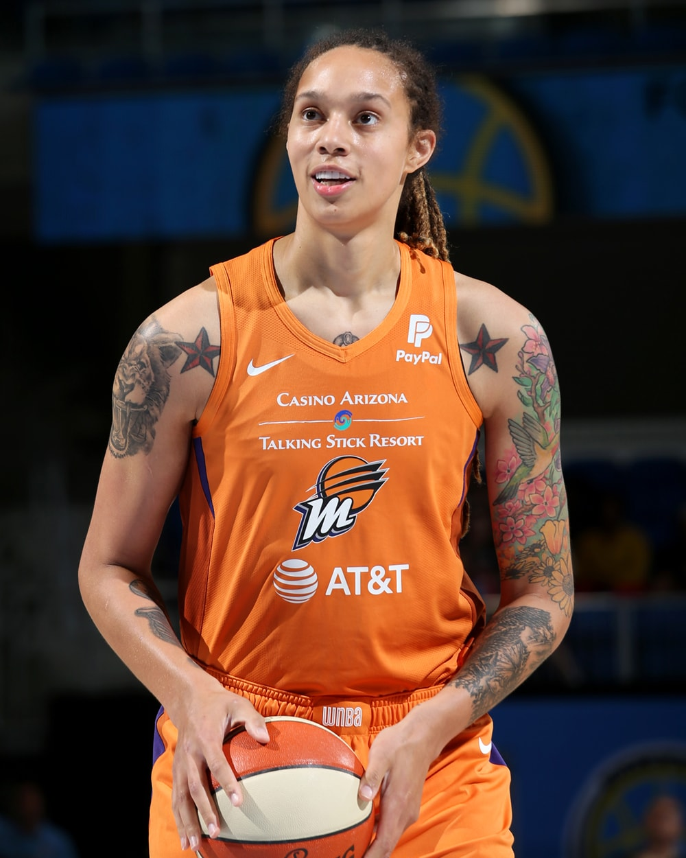 free throws from Brittney Griner