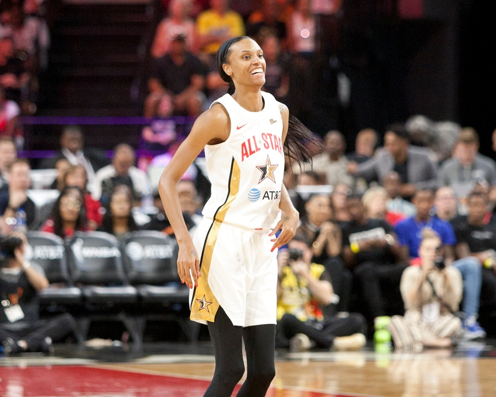 The Phoenix Mercury in Las Vegas for 2019 All-Star