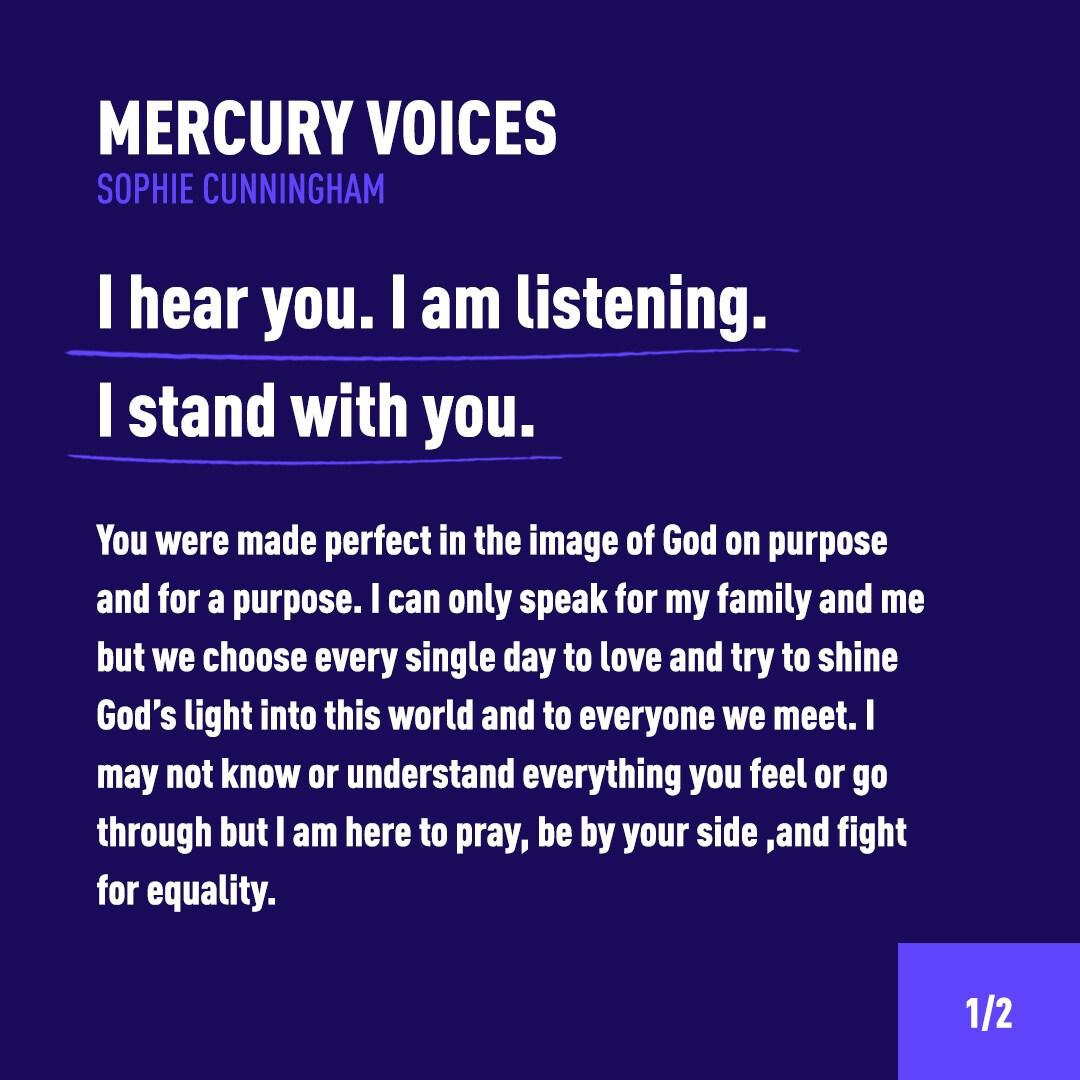Mercury Voices Sophie Cunningham