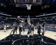 SAN ANTONIO, TX - JUNE 11: Kayla McBride #21 of the San Antonio Stars goes for a layup during the game against the New York Liberty on June 11, 2016 at the AT&T Center in San Antonio, Texas. NOTE TO USER: User expressly acknowledges and agrees that, by downloading and or using this photograph, user is consenting to the terms and conditions of the Getty Images License Agreement. Mandatory Copyright Notice: Copyright 2016 NBAE (Photos by Chris Covatta/NBAE via Getty Images)
