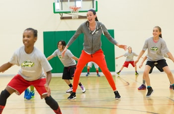 Kaiser Permanente Youth Basketball Clinic